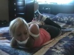 Lexi loves the hogtie