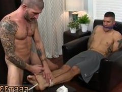 Cop spanking gay sex and black male fucking shemale gay sex movie first