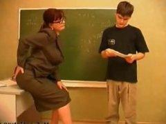 Teacher mature anal