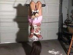 Upside Down Hogtie