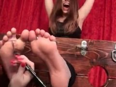 Tickling Intensive - Girl Tickled For 15 Minutes