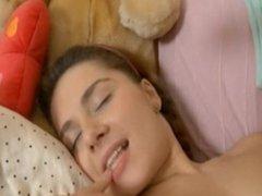 skoolgirl luv anal masturbation on webcam