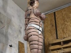 Bouncing udders have to be restrained