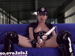 Officer Lelu cums HARD while instructing you