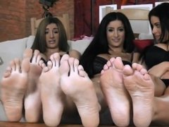 sisters young feetfetish on table