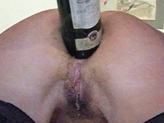 Anal Fisting & Bottle Insertion Close-up