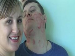 licking n marking kiss