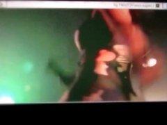 Anna Abreu's ass cum tribute 6