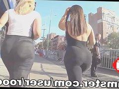 BIG BOOTY IN STREET ( HD )