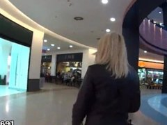 Gorgeous czech girl was seduced in the mall and nailed in pov