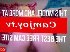 Stripteasing Jessica Ryan drilled on webcam