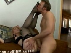 Mature Mom from CasualMilfSex(dot)com in hardcore sex video