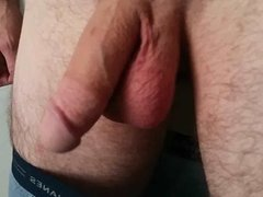 My meaty cock after a workout Slow-Mo