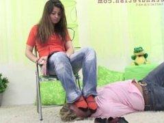 stinky socks humiliation