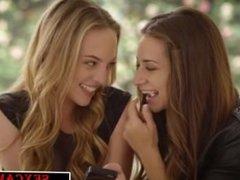 Babes Cassidy Klein and Aubrey Star Do Anal