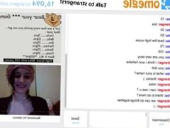 Cute Girl Play Omegle Sex Game