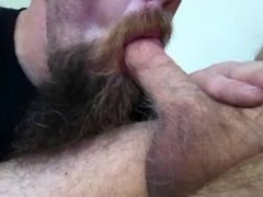 Lovin me some Daddy Dick making him gush in my cum hungry mouth on lunch