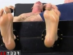 Gay porno male football [ www.feet33.com ] Cristian Tickled In The Tickle