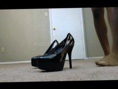 Addiction To Lady Ebony Nylon Feet