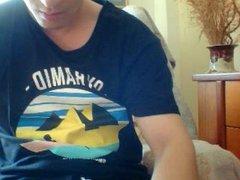 Greek Cute Boy Cums On Webcam, Sexy Ass