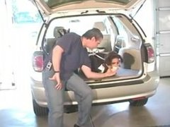 Hogtied Tightly in the Car