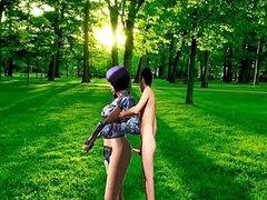 Teniendo sexo con mi novia HIDE (point blank)