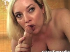 All Natural Maggie Green Gives Happy Ending BJ!