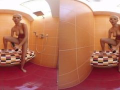 Watch her in the shower - SEXLIKEREAL.COM - VR Porn