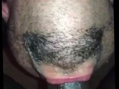Huge black cock deepthroat like a pro