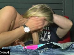 German cutie gets fucked and facialized
