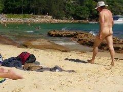 Asian on Sydney nude beach part 1