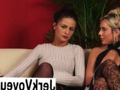 Jade Louise and Lacey Grace on Lady Voyeurs