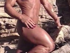Old School Video Of A Female Bodybuilder