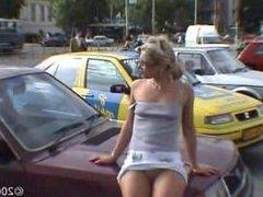 no panties in London