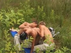 young bisexual teens mmf threesome