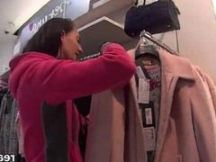 Stellar czech teenie gets tempted in the mall and poked in pov