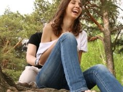 """""""Ticklish meeting with girl in the park""""- sexy feet tickling PREVIEW"""