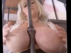 Big tit blonde is the ultimate tease  (music compilation)