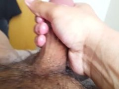 Very Oily Handjob And Cum