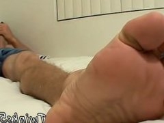 Free fat gay feet movies first time He deepthroats his own toes and