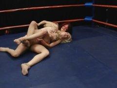 Melissa Vs. Danielle - DT Wrestling