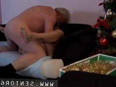 Bi cuckold fuck husband Bruce a filthy old stud loves to poke youthful
