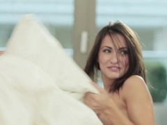Michaela Isizzu, Sabrisse - Pillow Fight