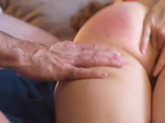 Chloe Morgane - Anal Creampie, Fingering my Ass and Intense Spanking