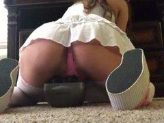 Wet Webcam girl Jerks on massager. More vids at free-cams.mooo.com