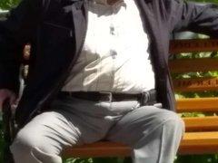 Older man in public-2