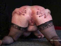 Bbw bdsm of fat runt in phobia electro torture and cruel humiliating domina