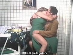 Horny Parents Fucking in the Kitchen (1970s Vintage)