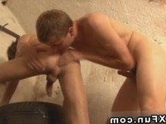 movies big cock sex gay daddy Erik pulls Louie's gigantic chisel out of