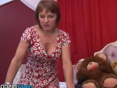 POV threesome wanking cock